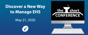 Discover a New Way to Manage EHS at the Short Conference 2020