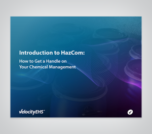 Introduction to HazCom: How to Get a Handle on Your Chemical Management